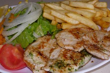 Restaurante la vega lagunas de ruidera - Platos con pechuga de pollo ...